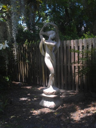 The Statue Out Back